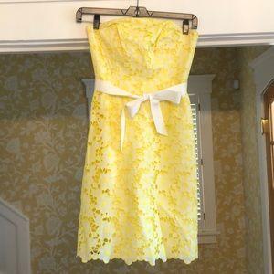 Beautiful yellow Lilly Pulitzer dress
